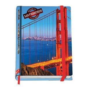 Notizbuch A5/96 Seiten kariert San Francisco