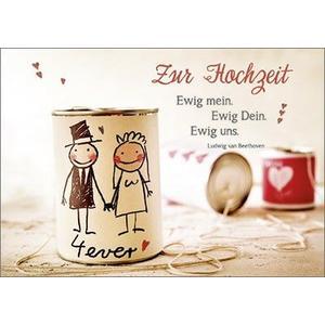 Anlasskarte MOMENTS - Zur Hochzeit