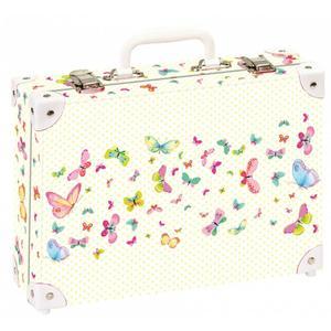 Handarbeitskoffer Schmetterling