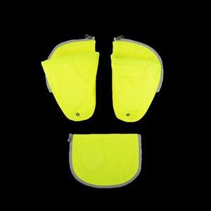 ergobag pack Seitentaschen Zip-Set (3-tlg.) Gelb Gelb