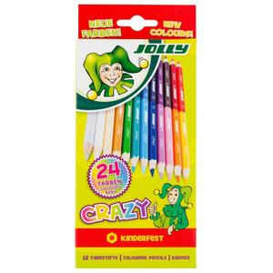 JOLLY Superstick Crazy - Neue Farben 12er-Kartonetui