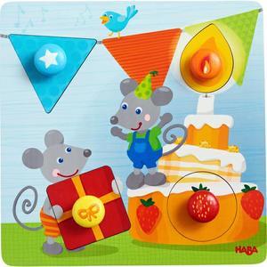 Greifpuzzle Geburtstagsmäuse