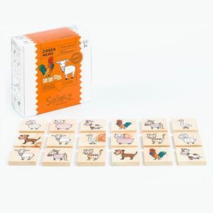 Zirben - Memo Tiere vom Bauernhof