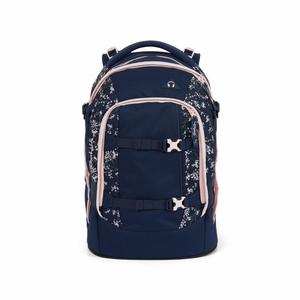 satch pack Bloomy Breeze dark blue, rose, white