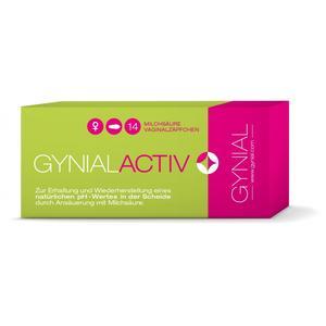 GynialActiv Vaginal Zäpfchen bei bakterieller Vaginose