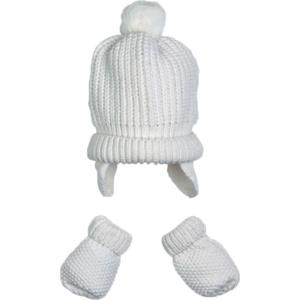 MAYORAL Baby Mütze und Fäustlinge