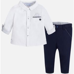 "Mayoral - elegantes Outfit - Hose und Hemd ""dunkelblau"""