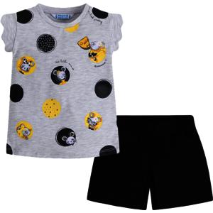 """MAYORAL Mädchen Shorts und T-Shirt Set """"Mäusebande"""""""