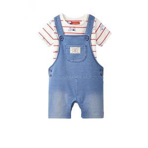 "TOM JOULE Jeanslatzhose und T-Shirt Set ""Duncan"""