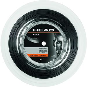 Head Tennissaite LYNX ROLLE 200m, Black