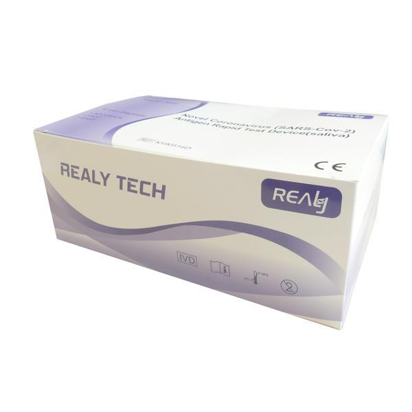 20x Realy Tech Novel Corona Spucktest Antigen Schnelltest COVID-19