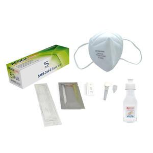 5x Aesku Rapid SARS-CoV-2 Nasenbohrertest Antigen Self-Test Corona Selbsttest Schnelltest