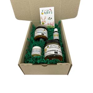 Ostergeschenkkarton Honig Die gesunde Osterüberraschung von Bio-Imkerei Blütenstaub