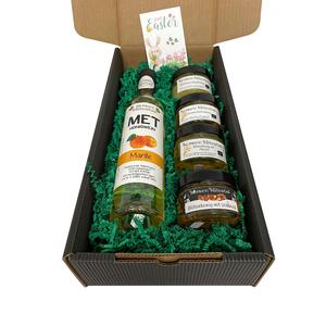Ostergeschenkkarton Honig (L) mit feinsten Bio Honig von Bio-Imkerei Blütenstaub