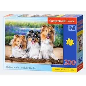 Puzzle 200 Teile 3 Hunde - 4438222117