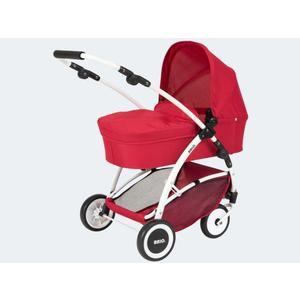 BRIO Puppenwagen Spin rot mit Schwenkrädern - 24900000