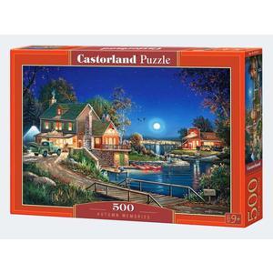 Puzzle 500T Erinnerungen im Herbst - 4438053421