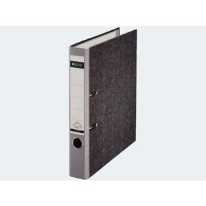 Ordner A4/52 1050 grau Pappe farbiger Rücken - 10505085