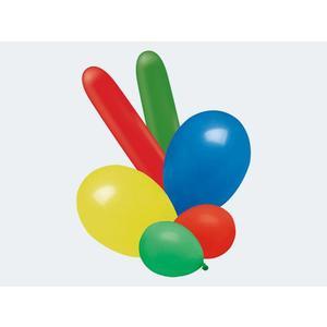 50 Luftballon bunt gemischte Farben,Formen,Größen - 12700