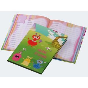 Freundebuch MONSTER 145x220 60 Seiten - 20335-15