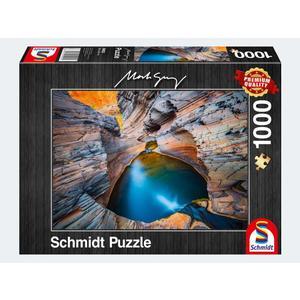 Puzzle 1000T Mark Gray Indigo - 59922