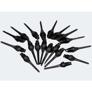 100 Ersatz Spitzen 6mm schwarz - 61111