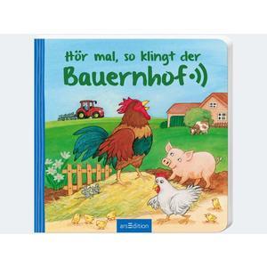 Hör mal rein: Bauernhof 18M 12S Pappe - 1793-4