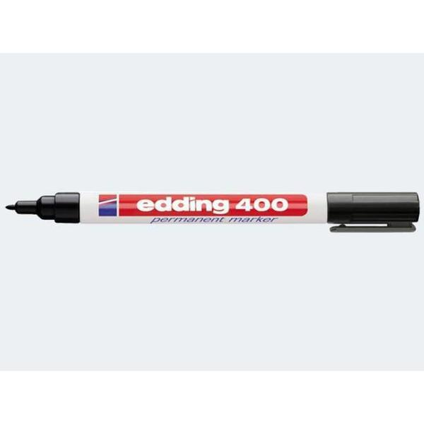 Edding 400 schwarz 1mm Rundspitze permanent - 04400001