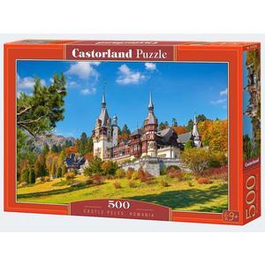 Puzzle 500T Schloss in Rumänien Castorland - 4438053292