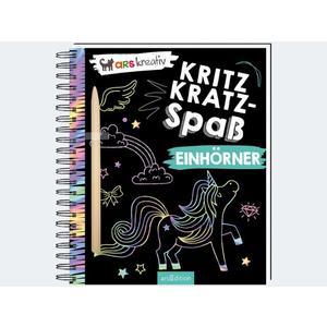Kritzkratz-Spass Einhörner - 3007-0