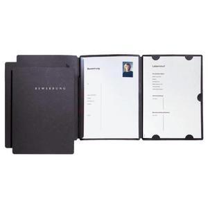 Bewerbungsset Select schwarz 3-tlg - 22016-04