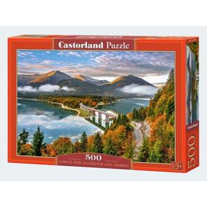 Puzzle 500T Sylvenstein Stausee Bayern Castorland - 4438053353