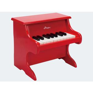 Hape Klavier m 18 Tasten rot - E0318