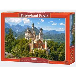 Puzzle 500T Schloß Neuschwanstein Castorland - 4438053544