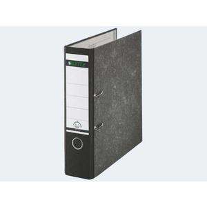 Ordner A4/80 1080 schwarz Pappe farbiger Rücken - 1080 5 95