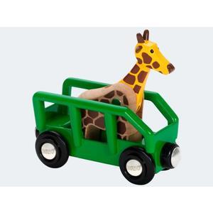 BRIO Safari Giraffenwagen - 33724