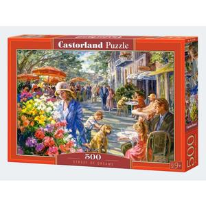 Puzzle 500T im Straßencafe Castorland - 4438053438