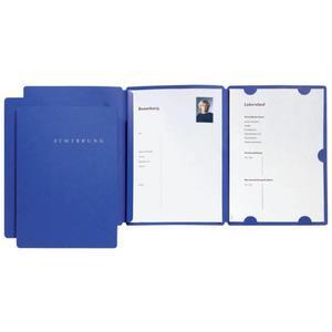 Bewerbungsset Select blau 3-tlg - 22016-02