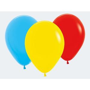 25 Luftballon bunt 25cm - 12135