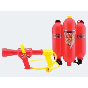 Wasserspritze Feuerlöscher Rucksack 30x20cm - 26949