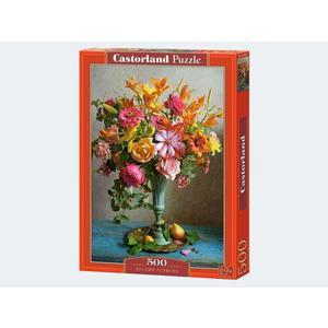 Puzzle 500T Herbstblumen Strauß Castorland - 4438053537