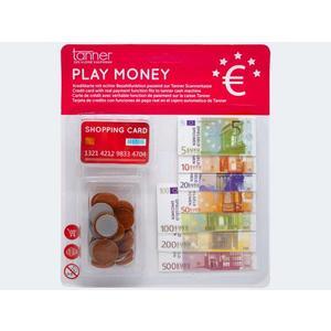 Spielgeld Euro Scheine/Münzen Blk - 0205.8