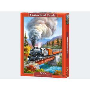 Puzzle 500T Train Crossing Castorland - 4438053216