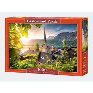 Puzzle 1000T Postkarte aus Hallstatt Castorland - 4438104543