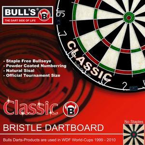 Bull's Classic Bristle Dartboard - 68229