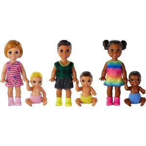 Mattel GFL30 Barbie® Skipper Babysitters Inc. Sibling 2er-Pack Puppen