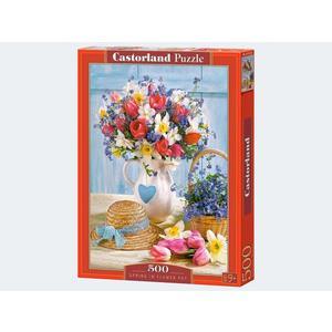 Puzzle 500T Frühlingsblumen Castorland - 4438053520