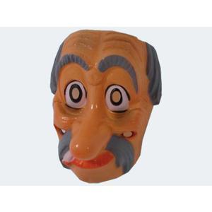 Maske alter Mann mit weissen Haaren für Erwachsene - 161.050.03