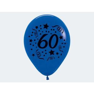 """7 Luftballon """"60"""" bunt 30cm - 12426"""