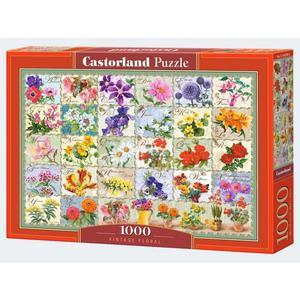Puzzle 1000T Vintage Floral Castorland - 4438104338
